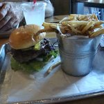 Shady Burger & French Fries