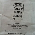 Foto de Dale's Indian Cuisine