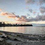 Sunset Parksville Beach