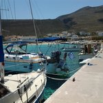 beautiful Diakofti harbour