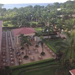 view of the grounds from our room