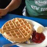 waffles gnam gnam