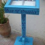 Riad information stand