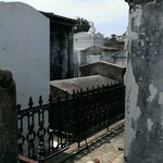 Tight spaces in St. Louis cemetery #1