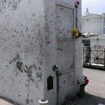 Marie Laveau's supposed tomb in St. Louis cemetery #1