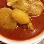 Chicken massamman curry