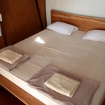 very good beds ,clean and nice looking room , big