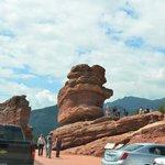 A balancing rock
