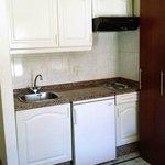Die Kochnische, eine brauchbare, kleine Küche