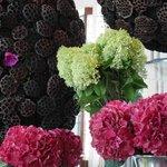 Lobby flower decoration
