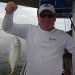 Amberjack. Capt. Rick put us right on the fish