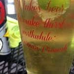 Ska Mexican Logger in a witty glass.