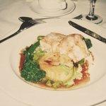 夕食のハプカ(白身魚)料理
