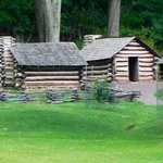 Huts at Valley Forge!