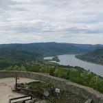 View of Danube bend