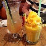 Lemon grass and ginger. Very refreshing