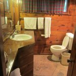 Blue Jay bathroom