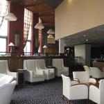 Lounge area of hotel