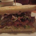 Yummy Oyster Sandwich - Ketch Joanne Restaurant and Bar (Half Moon Bay, CA)
