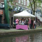 Oudegracht from boat