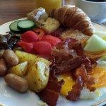 Breakfast buffet was very good