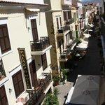 The view of Theotokopoulou street