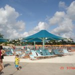 zona de playa artificial
