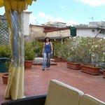 La terrasse du B&B Soriano 44