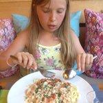 Spaghetti au saumon !