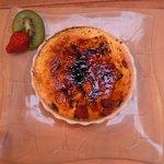 Dessert : crème brulée