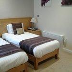 Twin beds,fresh linen