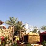 Cabanas & bandit bomber roller coaster