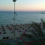 Utsikt strand