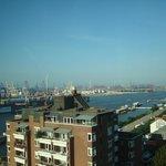 Zimmerausblick -  Hafen