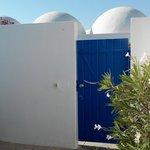 La petite terrasse de notre bungalow
