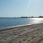 La plage au petit matin