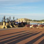 Evening entertainment at the Bandstand on the Promenade