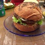 Delicious cococabana burger!!