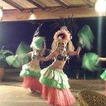 Nightly cultural dances: this was Hawai'ian night
