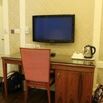 Working table, Television with Complimentary Coffee & Tea