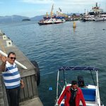 Our efficient and friendly car driver and boat transfer driver
