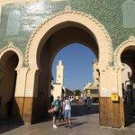 Ворота вид из Медины