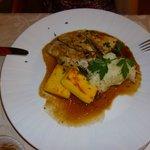 Suprême de pintade cuite en basse température, griesspflutta et choucroute nouvelle