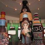 Skulpturer på World of Coca Cola