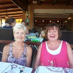 lovely picture of the wife and sister-in-law christina