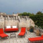La Terrasse et ses chaises-longues