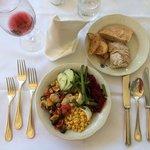 Dinner - salad bar options