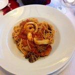 Spaghetti freschi ai frutti di mare
