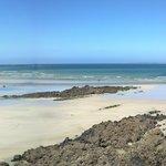 Les plages à 200m