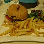 leckerer Burger